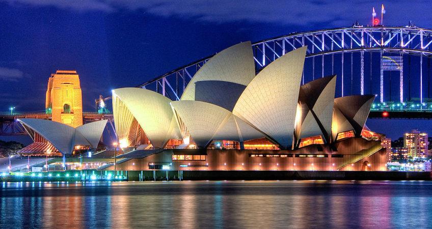australie sydney opera house